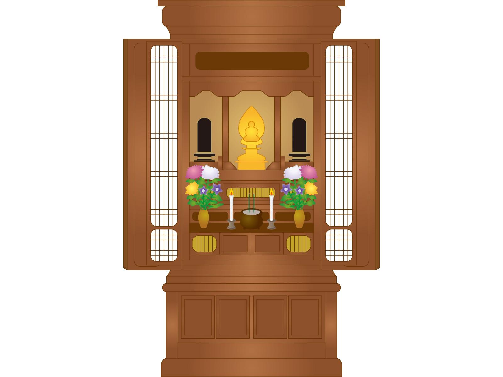 仏壇を処分することになった時に気を付けておくこと