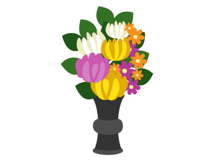 仏壇に供える花の飾り方は?
