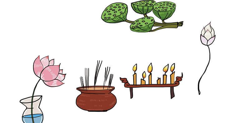 【仏壇】の配置、お供え物の仕方など紹介します!
